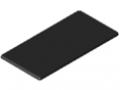 Abdeckkappe 12 240x120, schwarz