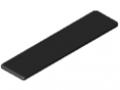 Abdeckkappe 8 160x40, schwarz
