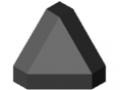 Fastener Cap 8 40x40-45°, black