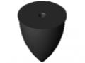Parabolic Buffer M12 D75x89, black