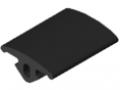 Abdeckprofil 5 16x3, schwarz
