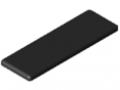 Abdeckkappe 5 60x20, schwarz