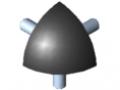 Verbindungssatz 5 R20-90°, schwarz