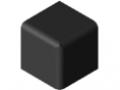 Fastener Cap 6 30x30x30, black