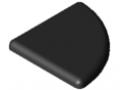 Cap 8 R40-90°, black