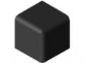 Fastener Cap 5 20x20x20, black