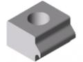 Adapterplatten-Spannelement 6 N5, natur
