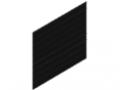 Dual-Rod Mesh 50x200, 1830x2008, black