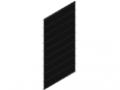Doppelstabmatte 50x200, 1830x958, schwarz
