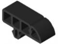 Protective Profile 8 40x16 R16, black