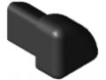 Cap for Protective Profile 8 R16-90°, black