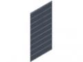 Dual-Rod Mesh 50x200, 1830x958, bright zinc-plated