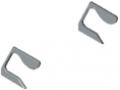Grip Rail Cap Set X, grey similar to RAL 7042