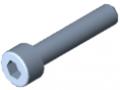 Zylinderschraube DIN 912 M5x25, verzinkt