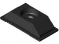 Rubber Insert 80x40, black