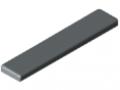 Cap X 6 60x12, grey similar to RAL 7042