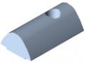 T-Slot Nut 10 St M6, bright zinc-plated