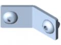 Railing Fastening Set 5-135°