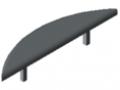 Abdeckkappe 8 R80, grau ähnlich RAL 7042