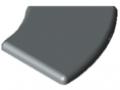Cap 8 R40/80-45°, grey similar to RAL 7042