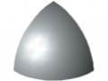 Fastener Cap 6 R30-90°, grey similar to RAL 7042