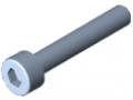 Zylinderschraube DIN 912 M3x18, verzinkt