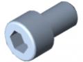 Zylinderschraube DIN 912 M10x16, verzinkt