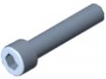 Zylinderschraube DIN 912 M10x50, verzinkt