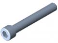 Zylinderschraube DIN 912 M10x70, verzinkt