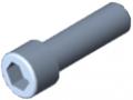 Zylinderschraube DIN 912 M12x40, verzinkt