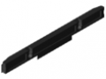 Roller Track 100 D4-50 ESD, black similar to RAL 9005