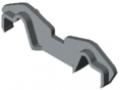 Partition Profile Clip K76 K, grey