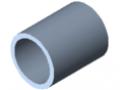 Tube D16x1.5 St, stainless