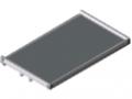 Tablett 1x180° 1200 ESD W