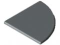 Abdeckkappe X 8 R40-90°, grau ähnlich RAL 7042
