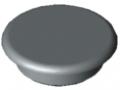 Abdeckkappe 6 D11, grau ähnlich RAL 7042