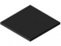 UHMW Polyethylene Panel 8mm ESD, black similar to RAL 9005