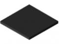 UHMW Polyethylene Panel 10mm ESD, black similar to RAL 9005