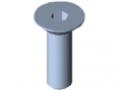 Countersunk Screw DIN 7991 M5x16, bright zinc-plated