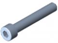 Zylinderschraube DIN 912 M8x50, verzinkt
