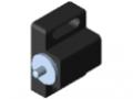 Magnetverschluss 8, schwarz