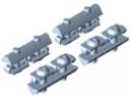 Klemmsatz für Synchronwellenprofil VK14
