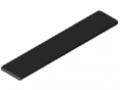 Abdeckkappe 8 200x40, schwarz