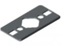 Radien-Dichtung 6 60x30 1R60, grau ähnlich RAL 7042