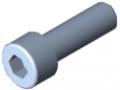 Zylinderschraube DIN 912 M8x25, verzinkt