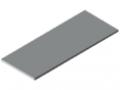 Tischplatte 30-1500x600 ESD HPL-beschichtet, grau ähnlich RAL 7035