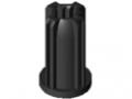 Gewindeeinsatz D30 M6 ESD, schwarz