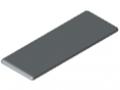 Abdeckkappe 8 160x60, grau ähnlich RAL 7042