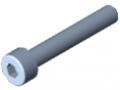 Zylinderschraube DIN 912 M4x25, verzinkt