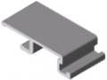 Door Seal Adapter Profile X 8 – XMS, natural